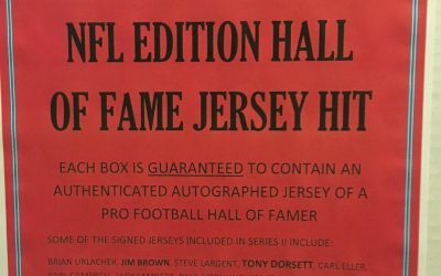Bases Loaded to release NFL Hall of Fame Jersey Hit Mystery Boxes, Series II
